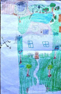 Map of Backyard- Kid World Citizen