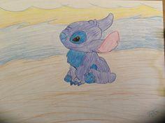 Disney Stitch-Drawing