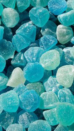 Color Azul Turquesa - Turquoise!!!  Jelly Jubes