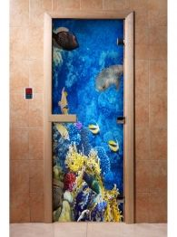 Дверь для бани и сауны с фотопечатью А068, DoorWood Painting, Painting Art, Paintings, Painted Canvas, Drawings