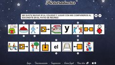 Informática para Educación Especial: Pictotraductor, un fantástico procesador de textos...