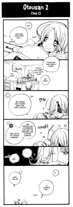 Only in a doujinshi is all of this possible. Allen and General Cross Marian