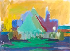 th_Arbeider på papir - Hagetrær gouache Gouache, Norway, Paintings, Art, Kunst, Art Background, Paint, Painting Art, Painting
