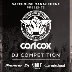 After the huge success of last year's DJ competition, Carl Cox and Safehouse Management are once again looking for brand new DJ talent to join them in SPACE Ibiza. RICH MORE will makes the party move! Space Ibiza, New Dj, House Music, Dance Music, Night Life, Ale, Competition, Management, Party
