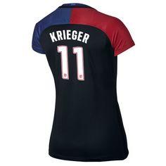 2016 Away Ali Krieger Jersey USA Women's Soccer #11 - Black