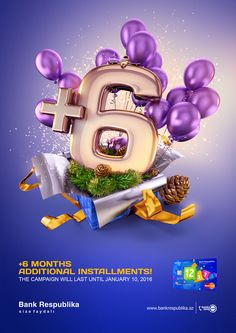 "Bank Respublika ""6+"" print on Behance"