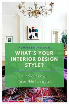 Take this fun quiz to find your home #decorating style. Is your eclectic home filled with tons of artwork or do you appreciate the new traditional interior style? Maybe you're a bit glam, or you're partial to decorating with global design touches?  Start