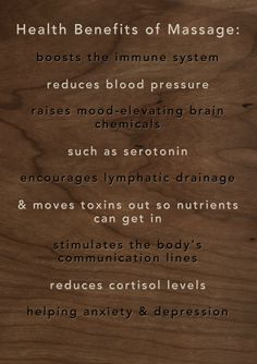 Health Benefits of Massages www.massagesenzee.nl