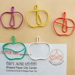 apples, apples, and more apples Paper Clips Diy, Apple Office, Plastic Clips, Wire Crafts, School Days, Teacher Stuff, Apples, Prom Dress, Christmas Stockings