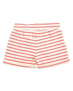 9f8f9acf45b2b Molo Ara Striped Melange Shorts, Size 2T-12 Red And White