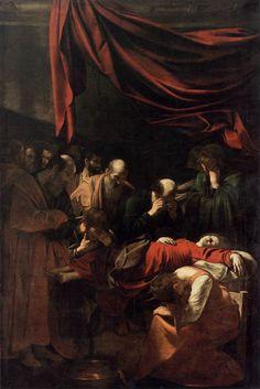 Caravaggio - Morte della Madonna - 1605-1606