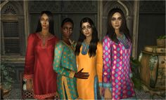 TS2 | Retexture Indian style clothing #DeaExMachina AF TF
