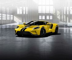 Ford GT, Triple Yellow.