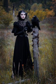 Under fashion silliness, let us not forget Goth (a couture version worn here) and Steampunk!