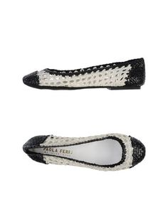 I found this great PAOLA FERRI by ALBA MODA Ballet flats for $49 on yoox.com. Click on the image above to get a code for Free Standard Shipping on your next order. #yoox