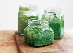 Parsley Pesto --- used about 3x as much garlic and 2x as much lemon (juice, pulp & zest) as it called for. --- really good.   Italy has 20 regions, each home to a unique and delicious cuisine. Culinary instructor and cookbook author Katie Caldesi's book, The Italian Cookery Course, is a compilation of 400 of Italy&#0…