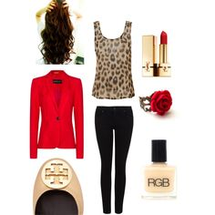 """""""Angry Leopard"""" by eodwife on Polyvore"""