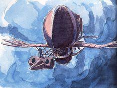 Film: Castle In The Sky ===== Prop Design: Aircrafts ===== Production Company: Studio Ghibli ===== Director: Hayao Miyazaki ===== Producer: Isao Takahata ===== Written by: Hayao Miyazaki ===== Distributed by: Toei Company Prop Design, Design Model, Layout Design, Castle In The Sky, My Neighbor Totoro, Animation, Hayao Miyazaki, Film Serie, Character Design References