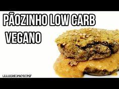 Pãozinho Low Carb Vegano {sem glúten} - Juliane Camacho
