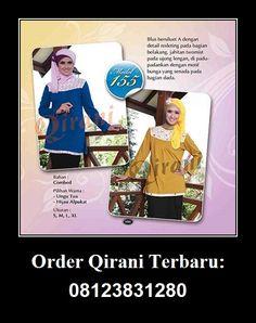 Qirani Blouse Model 155, Hubungi : HUBUNGI :  Whatsapp : +62 812-3831-280  SMS : +62 812-3831-280 BBM : 5F03DE1D