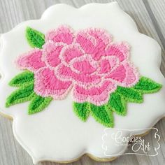 Floral Embroidery | Cookie Connection