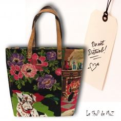 Poppies, #vintage #tapestries leshopdemoz.com