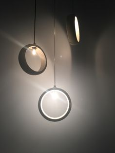 Cement pendant light by Urbi et Orbi