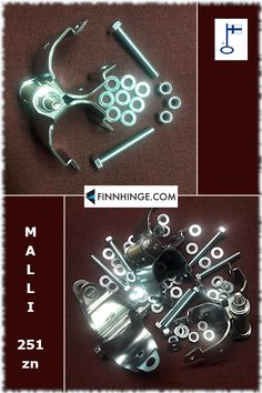 Some shiny safety gate spring hinges made of electrogalvanized steel - for a Christmas feel :) These are designed for approximately 42 mm pipe railings, but other size and finishing options are also available, as well as a version for profile pipes. Visit our website for more gate, door and shutter hardware options!  #hinges #metalworking #hardware Pipe Railing, Shutter Hardware, Safety Gates, Gates And Railings, Gate Hinges, Industrial Safety, Spring Hinge, Metalworking, Pipes