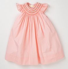 Roses Bishop Smocked Dress - freakinggg adorable