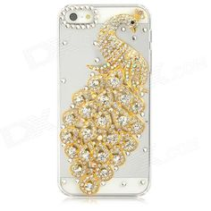 Quantity: 1 Piece; Color: Golden + transparent; Material: Plastic; Type: Back Cases; Compatible Models: Iphone 5; Other Features: Unique and beautiful; Protects your phone from scratches shock and dust; Allows access to all interfaces w/o removing the case; Easy to install and remove; Packing List: 1 x Protective case; http://j.mp/1kVvxRn