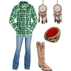 """Country"" by kaybraden on Polyvore"