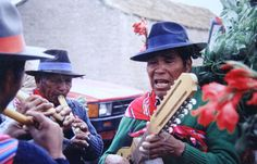 Cultura  Aymara -  músicos