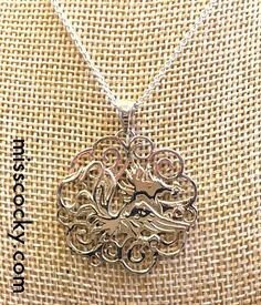 Sterling silver gamecock necklace! (currently sold out)