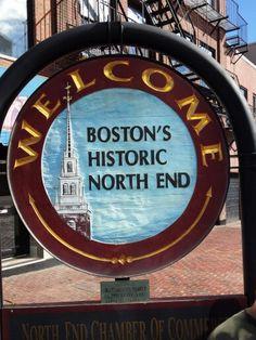 Visit each of Boston's neighborhoods....Boston's North End