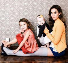 Jessica Alba & Daughters: Posh Photo Shoot