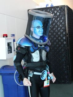 Mr. Freeze, SDCC 2012 cosplay.