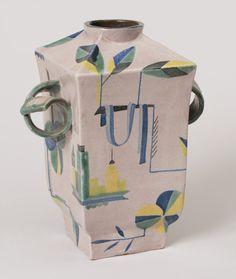 // Wiener Werkstätte flower vase c. 1921