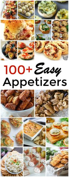 Awesome collection of over 100 of the best finger foods and easy appetizers for a party! via Awesome collection of over 100 of the best finger foods and easy appetizers for a party! via Wondermom Wannabe Cheap Appetizers, Appetizers For A Crowd, Finger Food Appetizers, Appetizer Recipes, Best Party Appetizers, Easy Holiday Appetizers, Easy Make Ahead Appetizers, Dinner Recipes, Cheap Finger Foods
