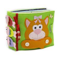 Activity toy developmental toys quiet book educational toy