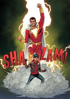 The adventures of a teenager whom the wizard Shazam endowed with the ability to transform into an adult superhero. Original Captain Marvel, Captain Marvel Shazam, Marvel Dc, Shazam Comic, Dc Comics Heroes, Arte Dc Comics, Candy Crush Saga, Marvel Contest Of Champions, Arte Nerd