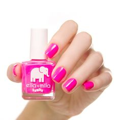 You won't mind being stranded on an island with nails painted with this hot pink creme nail polish. Collection: Samba