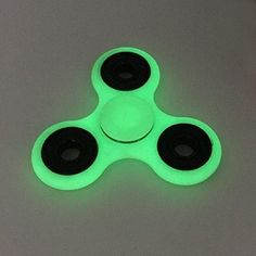 Toplay Fidget Spinner Toy Stress Reducer Ceramic Bearing - Perfect For ADD ADHD Anxiety and Autism Adult Children (Fluorescence)