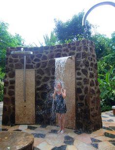 Kula Wai Hydrotherapy Garden at Laniwai Spa at Disney's Aulani Resort on Oahu, Maui