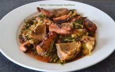 Μενού για την Κυριακή της Αποκριάς και την Καθαρά Δευτέρα - cretangastronomy.gr Greek Recipes, Japchae, Pork, Vegan, Chicken, Ethnic Recipes, Kale Stir Fry, Greek Food Recipes, Pork Chops