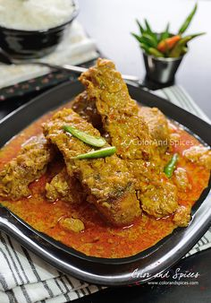 Color and Spices: Macher kaliya...a bong special fish curry