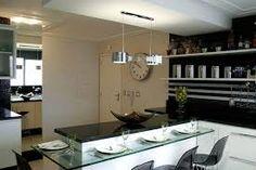 Resultado de imagem para cozinha americana apartamento moderno