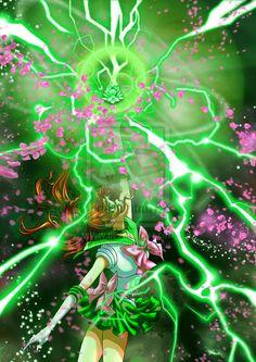 Sailor Jupiter Shiny Crystal Power: The Jupiter by AmarineCraft