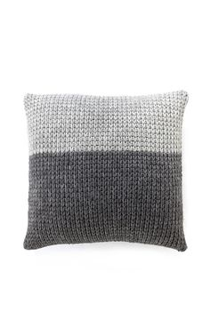 knitted cushion cover from country road