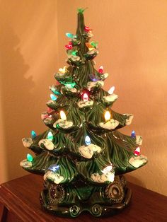 37 Best Ceramic Christmas Trees Images In 2013 Christmas Tree