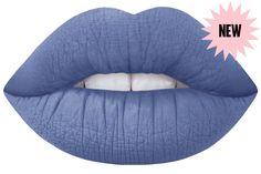 thistle grungy grey-blue matte liquid lipstick by Lime Crime $20.00